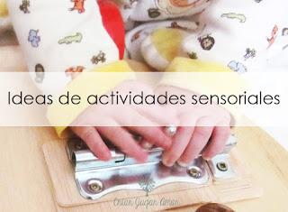 la importancia de la estimulación sensorial en bebés