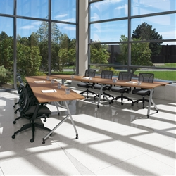 Global Junction V Shaped Table Configuration