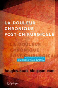 Télécharger Livre Gratuit La Douleur Chronique Post Chirurgicale pdf