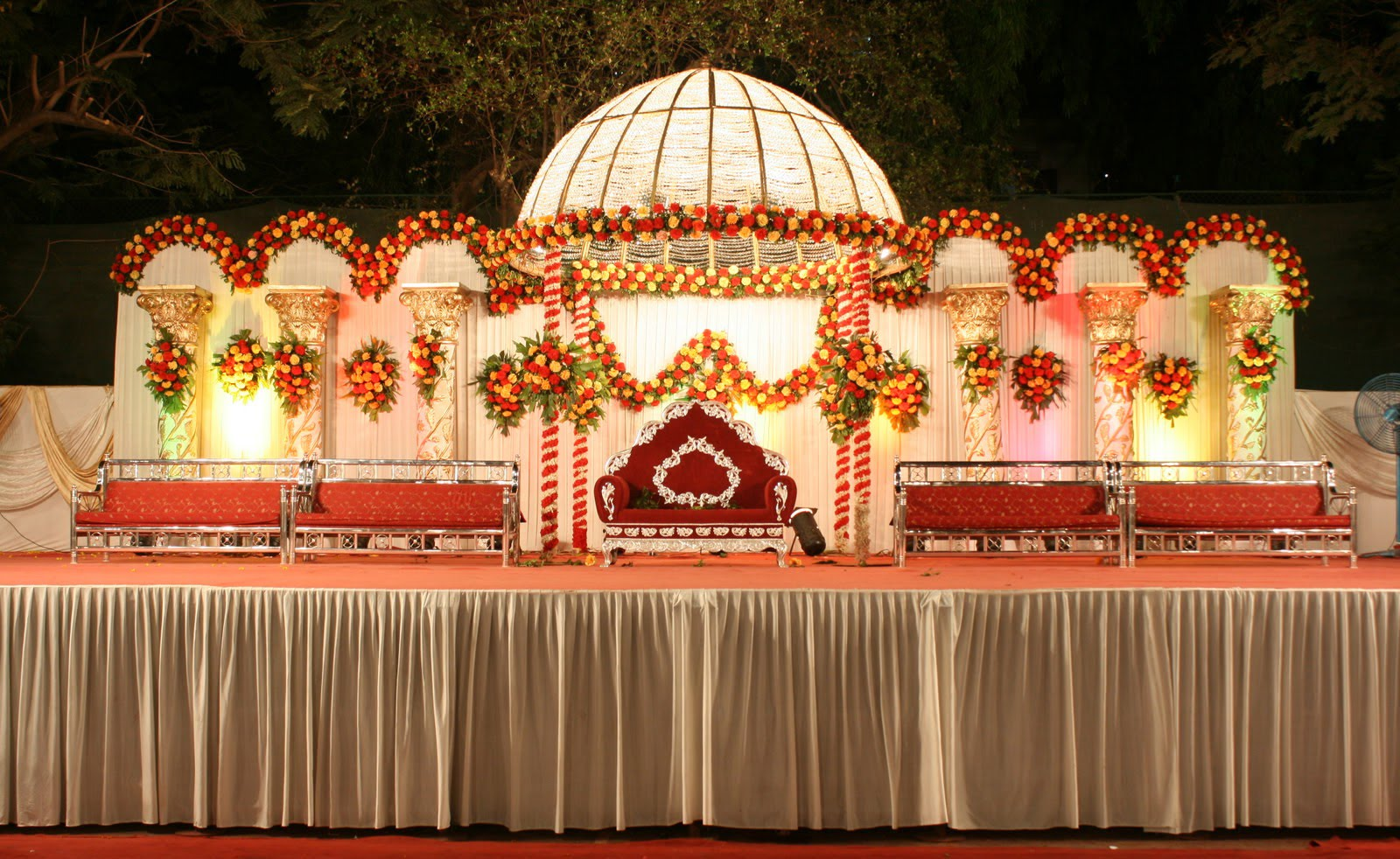 Marriage Wedding Stage Decorations Background Images Of India Studiopk