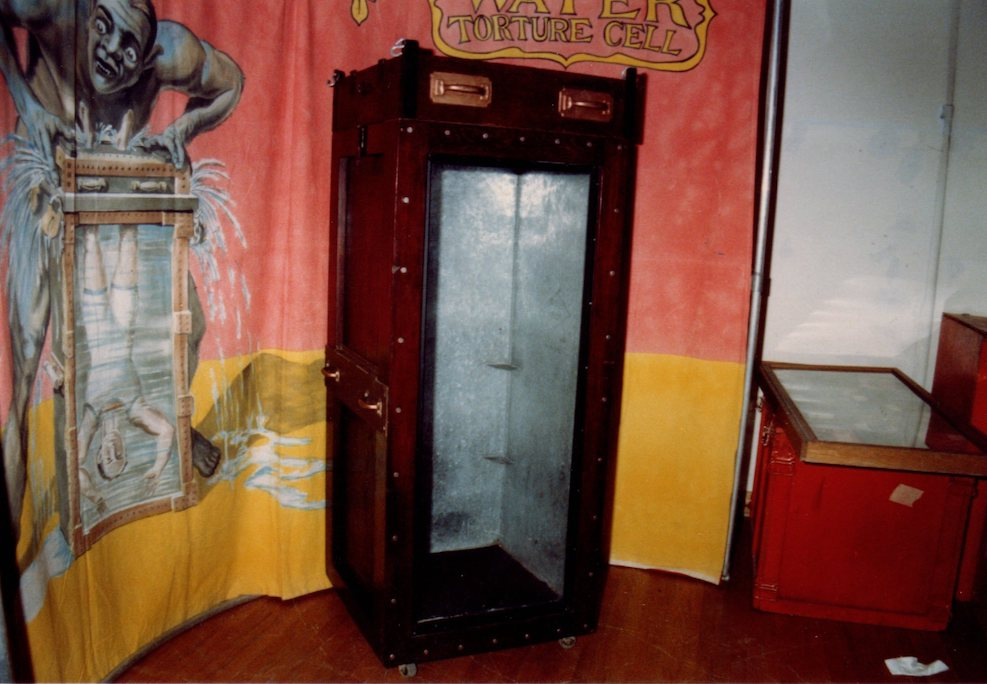 Wild about harry the wild story of abb dicksons water torture cell magician and collector abb dickson who passed away last year owned a water torture cell that he claimed had belonged to houdini himself fandeluxe Images