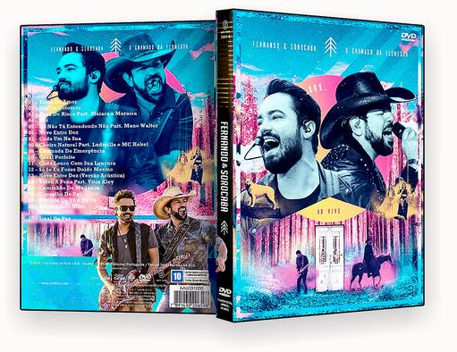 CAPA DVD – Fernando & Sorocaba O Chamado Da Floresta DVD-R