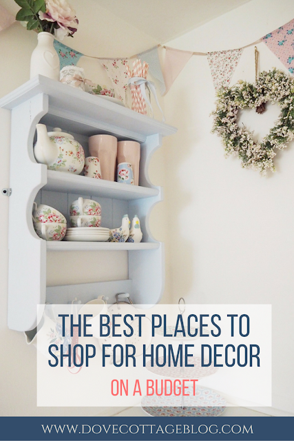 Shopping for home decor, interiors and accessories on a budget, including my favourite places to find home interiors on the UK high street