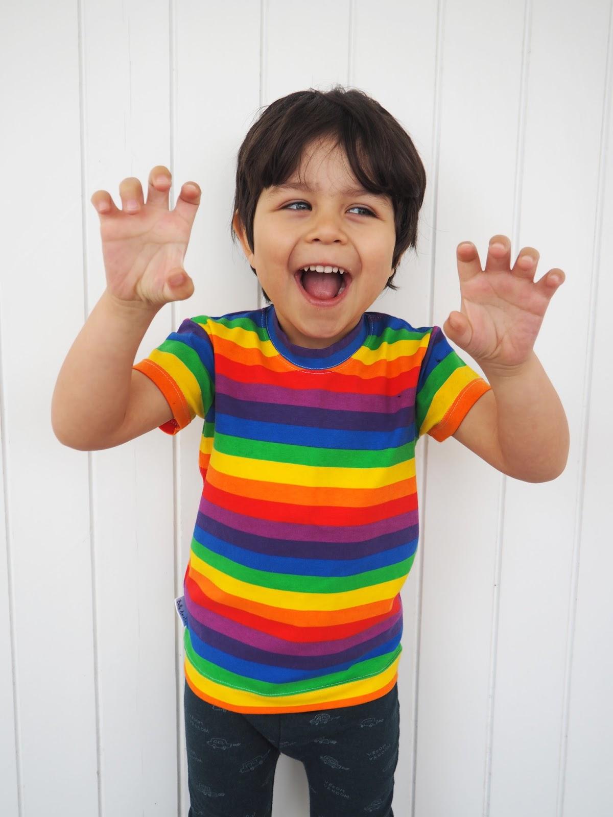 Belle Amelie Rainbow t-shirt