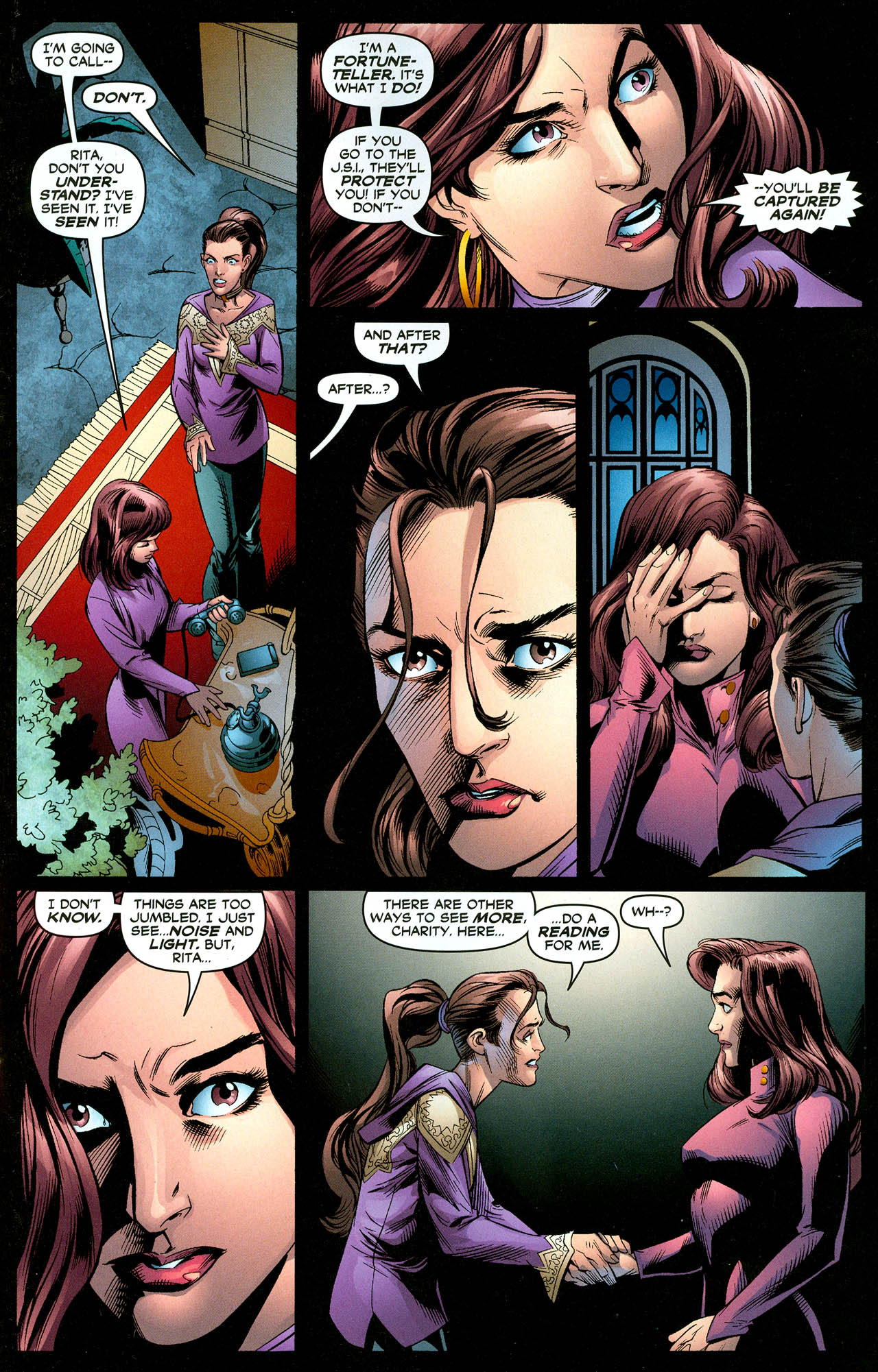 Read online Trinity (2008) comic -  Issue #29 - 12