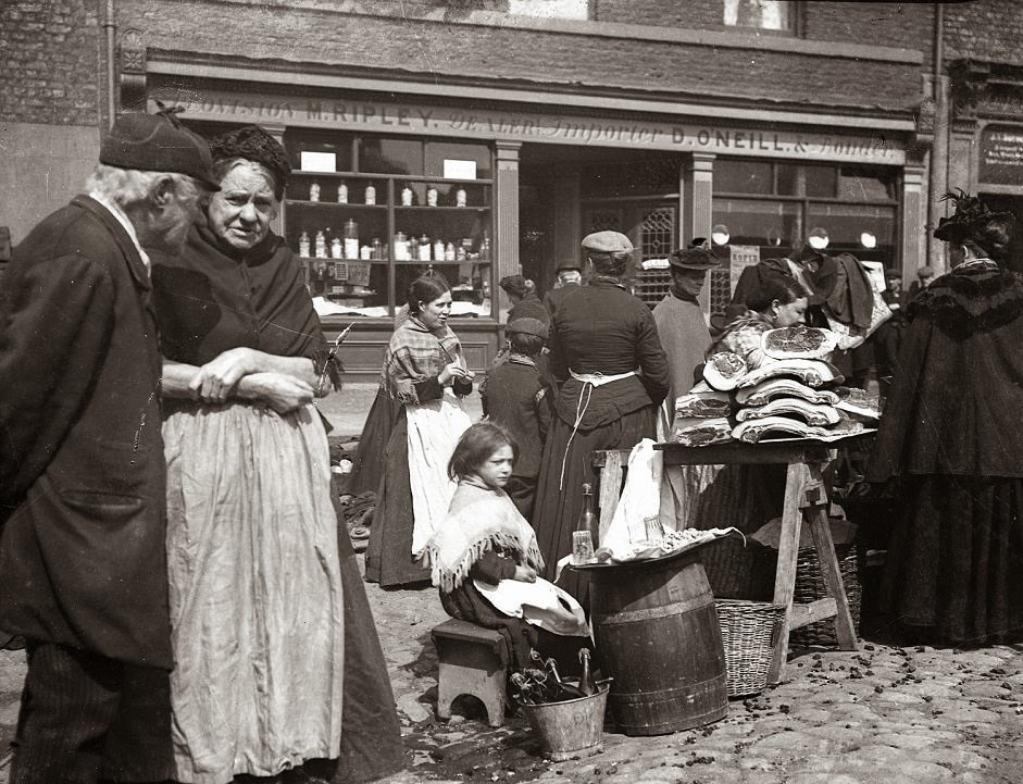 Street Life Of Newcastle In The Late 19th Century