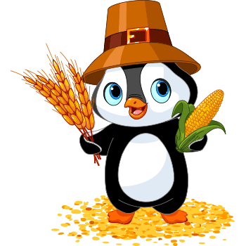 Thanksgiving Penguin