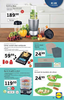 CATALOG LIDL 7 ianuarie - 13 ianuarie 2019 nutrition mixer