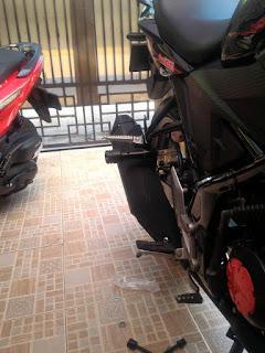 Modifikasi Simple Sederhana Honda All New Cb150r