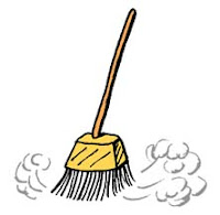 Broom sweeping by itself