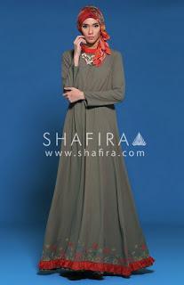 Desain Busana Busana Muslim Dan Muslimah Shafira Edisi Lebaran