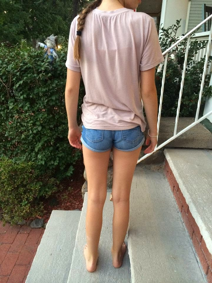 Will not Tween girl non nude up shorts taste