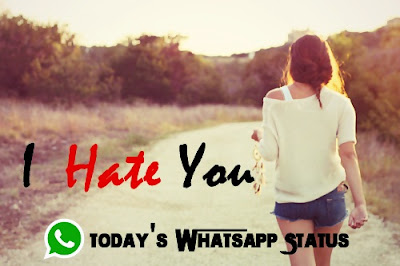 100 I Hate You Quotes Status for WhatsApp in English