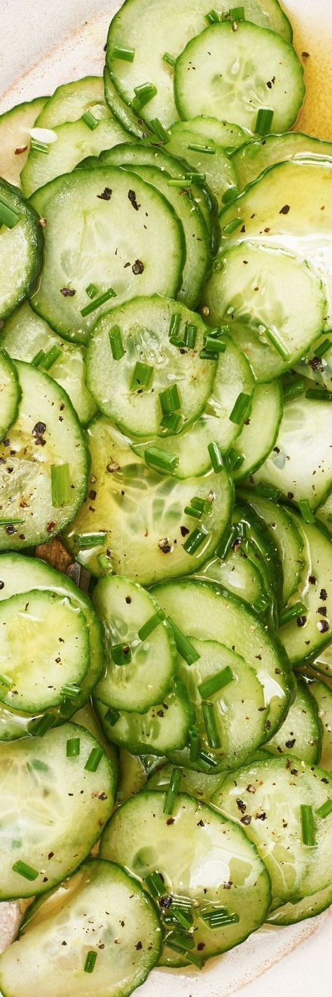 Tangy Cucumber Salad
