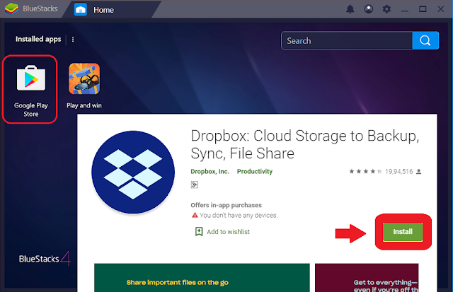 dropbox for pc windows