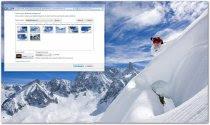 تحميل ثيم  التزلج على الجلــيد لويندوز7 من مايكروسوفت Snow Sports Windows 7 Theme
