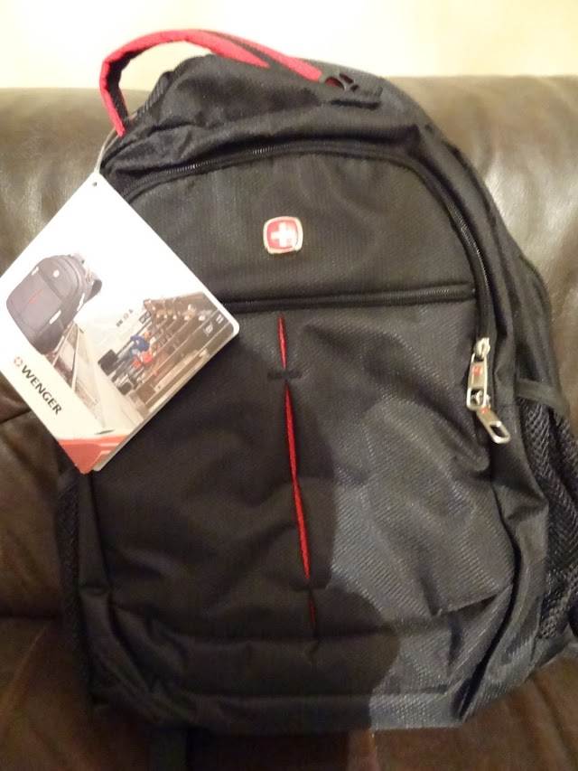 Wenger quality Swiss backpack is made in China