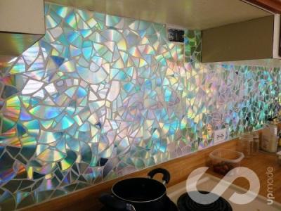 Dinding Dapur Dihias Mozaik CD