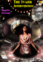 "Book cover art: ""The Svaht Intervention"" by Angela Fersoni"