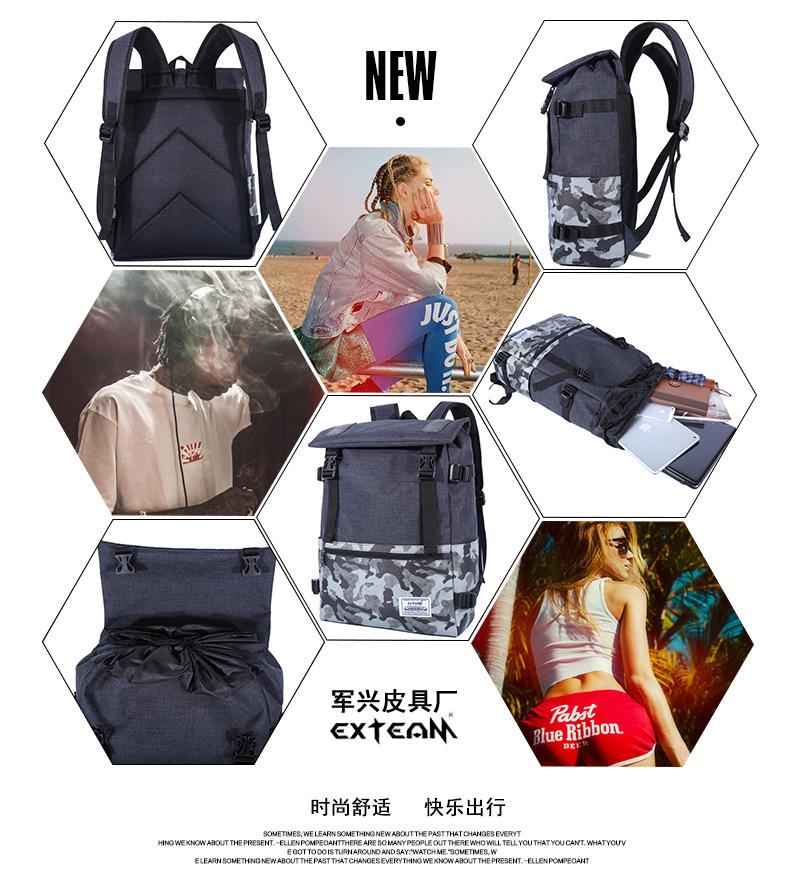 Casual Backpack Laptop Bag Light Weight Waterproof Travel Bag 188 4e1c4d9fd35e2