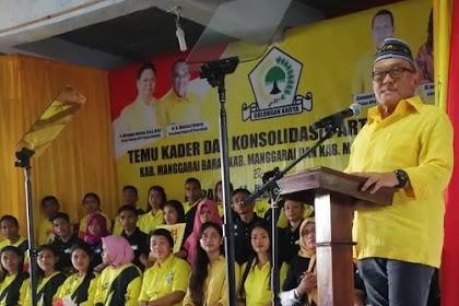 Aburizal Bakrie Ingatkan Kader Golkar: Menangkan Jokowi dan Rebut Banyak Kursi di DPR