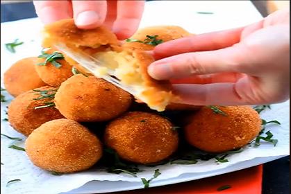كفتة البطاطس بالجبنه علي الطريقه التركيه