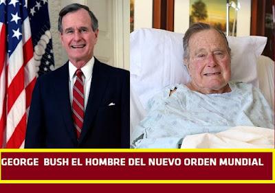 Muerte del ex presidente George H. W. Bush que pedía el nuevo orden mundial y era miembro de Skull and Bones #Katecon2006
