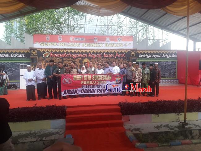 Hadapi Segala Kerawanan Pemilu Polda Lampung Lakukan Sekorsing