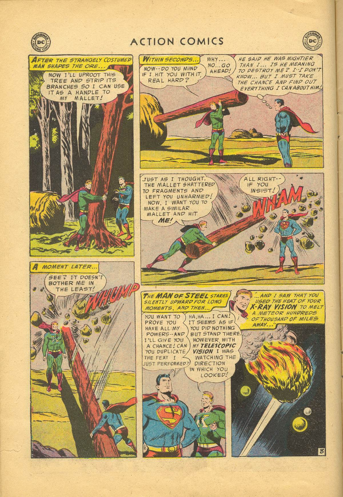Read online Action Comics (1938) comic -  Issue #209 - 10