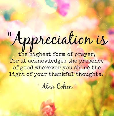 Best Appreciation Quotes