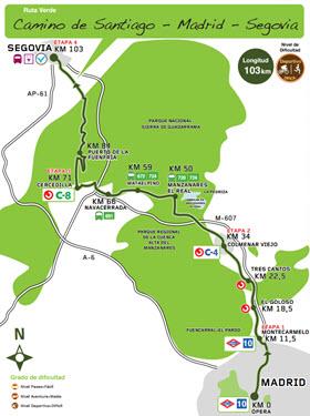 Ruta Verde 'Monte de Valdelatas' desde la estación de Metro de La Granja en Alcobendas