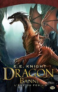 L'Âge du feu de E.E. Knight, Tome 1-Dragon-Knight-Age de feu-dragon champion-champion-milady-bernet-dainche-poche-bdocube-bedeocube-volume-2008-2005-roman-serie