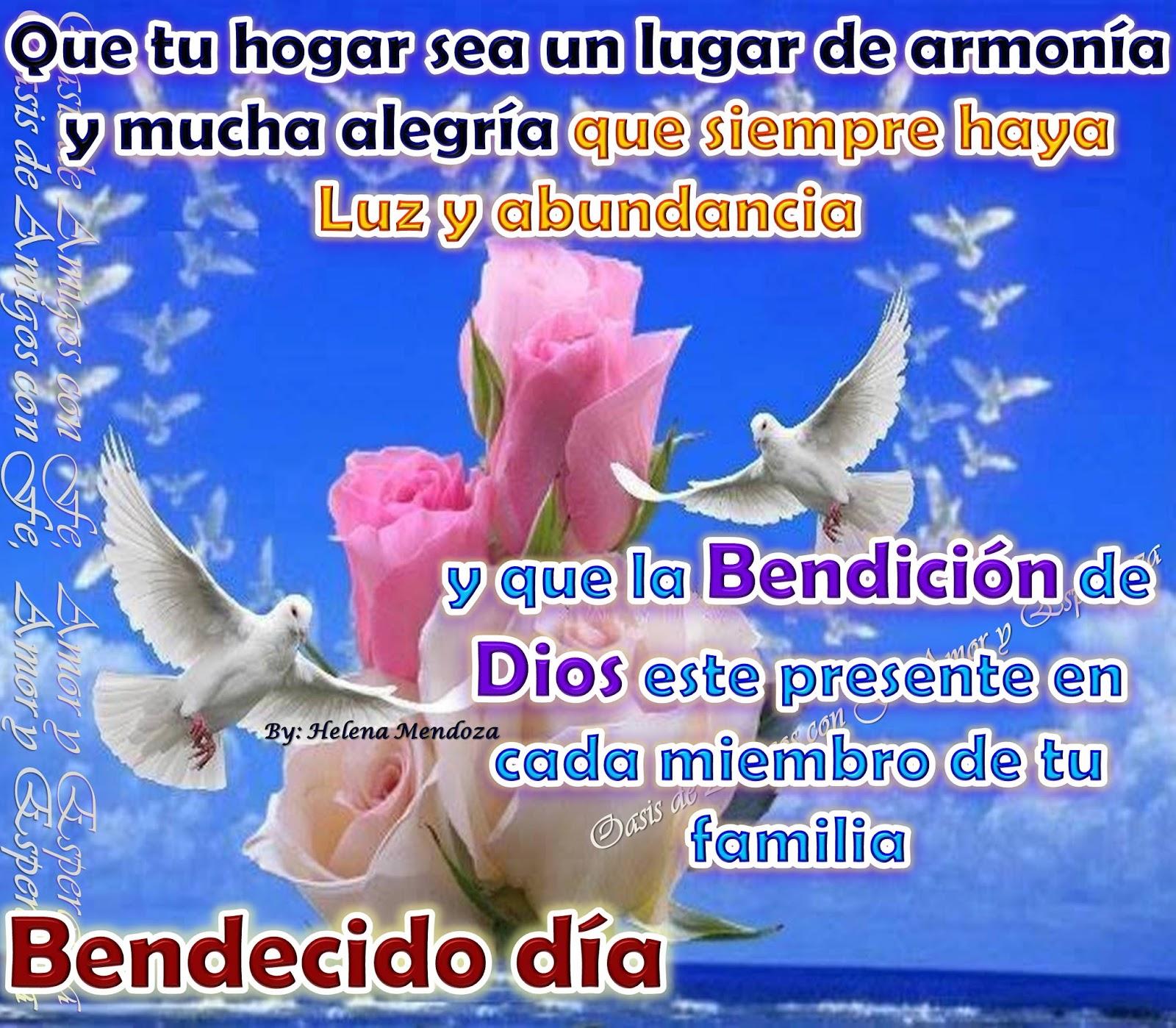 imagenes con bendiciones de dios para compartir y enviar