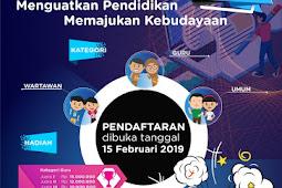 Deadline Lomba Artikel dan Jurnalistik Kementerian Pendidikan dan Kebudayaan tahun 2019