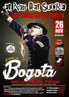 Concierto de El NOI de sucre en Bogotá 2017