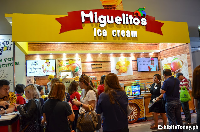 Miguelito's Ice Cream Exhibit Booth