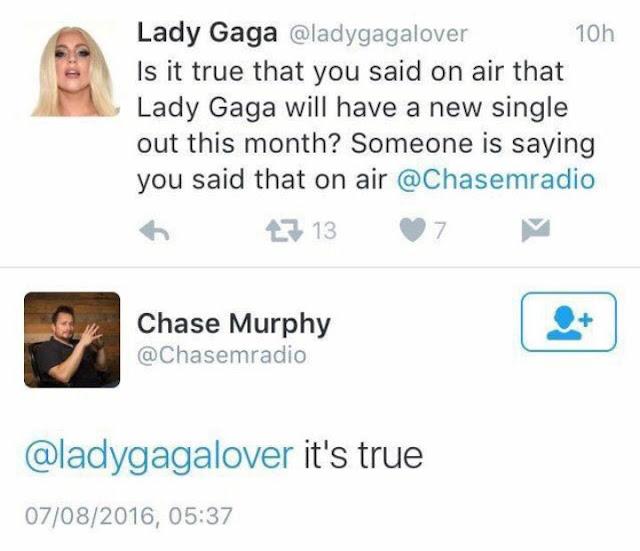 ¿Nuevo single de Lady Gaga podría venir en los próximos 30 días