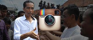 Gara-gara Banyak Komplain, Presiden Jokowi Bikin Akun Instagram Resmi!