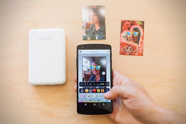 mini impresora portátil Polaroid que imprime fotos de alta calidad.