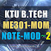 Note for ME301 Mechanics of Machinery -MOM Module 2 [S5 ME]