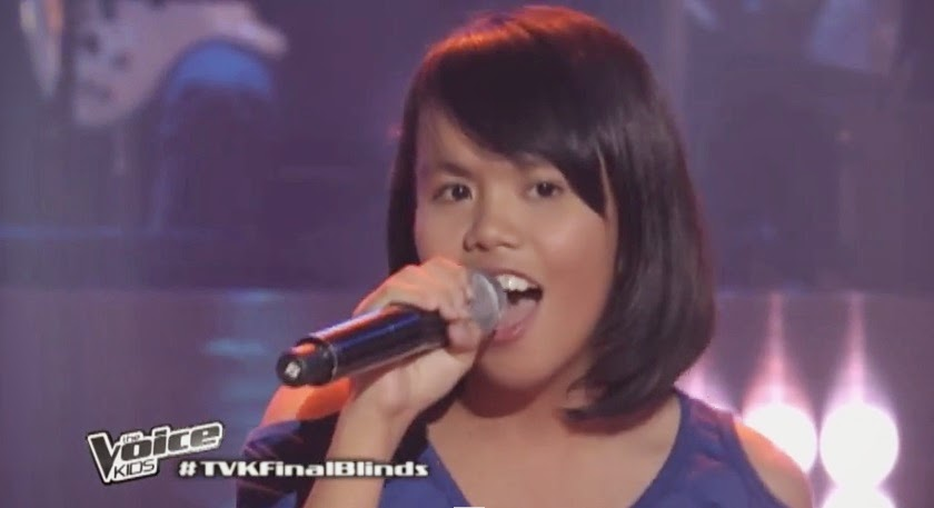 "Triscia Jumawid sings ""Halo"" on 'The Voice Kids' Philippines"