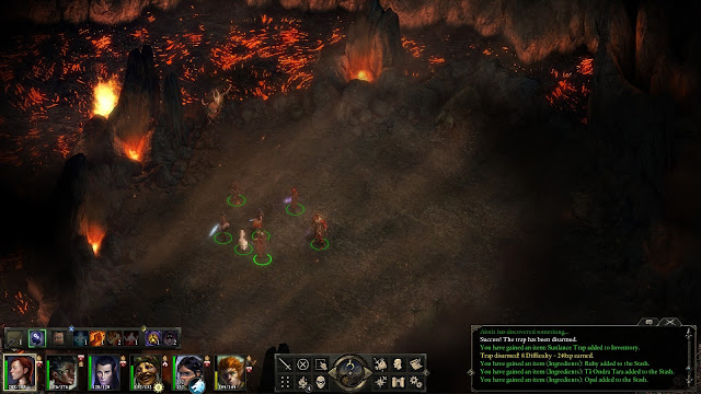 Pillars of Eternity Party Screenshot