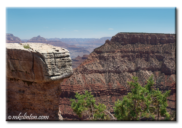 Photo from the south rim of the Grand Canyon