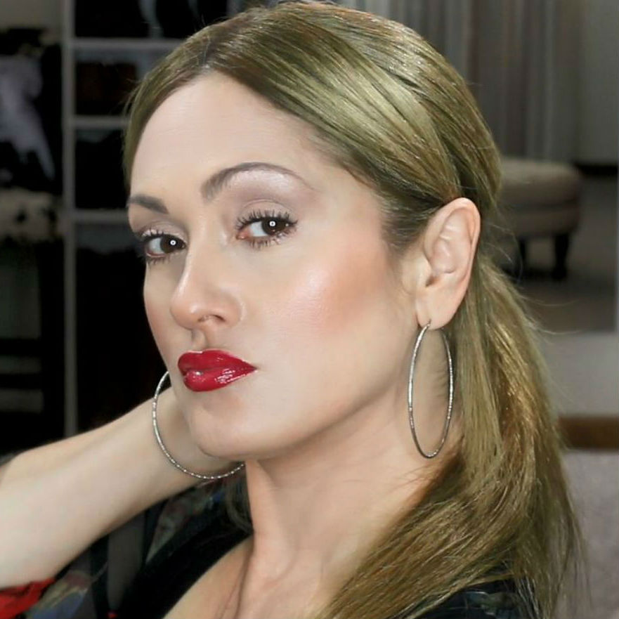 Beauty101bylisa Everyday Simple Red Lip Makeup Video