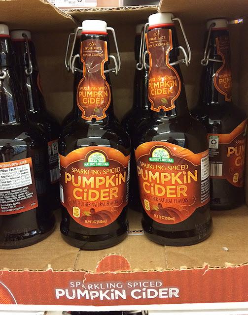 Aldi Sparkling Spiced Pumpkin Cider