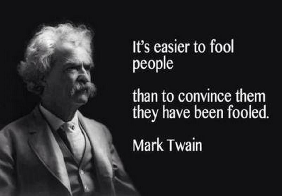 Acerbic Politics: Mark Twain Was A Smart Guy