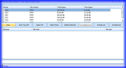 تنظيف الحاسوب من الملفات المكررة Puran Utilities