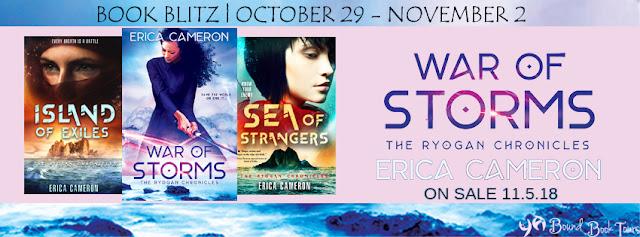 {Series Spotlight+Excerpt} War of Storms by Erica Cameron