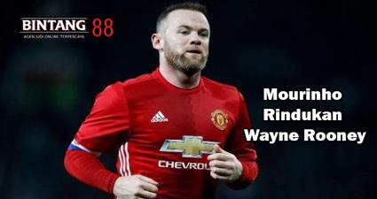 Mourinho Rindukan Wayne Rooney