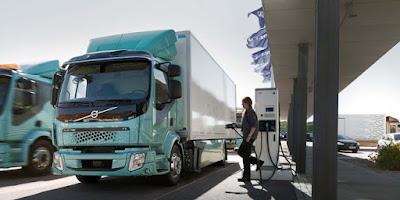 Resmi diluncurkan Di Swedia, Truk Bertenaga Listrik Dari Perusahaan Volvo Trucks